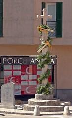 All Things Fir (Bricheno) Tags: espaa holiday monument spain espanha mediterranean cross espana mallorca spanien spagna spanje majorca baleares soller  espanya  balearics hiszpania sller porcelanosa  fir  bricheno firdesller
