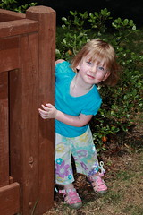 "Playing ""Hide & Seek"" (Singleaction) Tags: girl kids canon children daughter flashphotography granddaughter grandchild grandkids childrenatplay canoncamera kidsatplay canont3i"