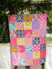 Kumari Garden (sewfunbymonique) Tags: garden lodge aviary patchwork lattice joann dena kumari honeychild crazylove jenniferpaganelli joeldewberry sewfunbymonique