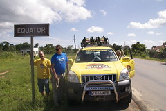 More 444 AFR and Team on Uganda Equator