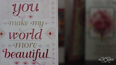 beautiful... (corey98x2) Tags: world birthday red love beautiful make canon cards rebel 50mm shiny heart you sweet more card present wife arrow caring t5i