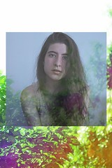 """""""Closer"""" (Reedition) (amanda.britos) Tags: portrait selfportrait hot girl collage creativity photography colours chica sweet backround navie"""