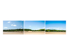 140607 - Easy Red (BillPutnam) Tags: france beach cemetery day d airplanes beaches soldiers prints fortifications normandy paratroopers memorials colleville triptychs bunkers diptychs medalofhonor