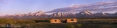 Grand Teton (John DG Photography) Tags: sunrise nationalpark cabin wyoming teton grandteton cunninghamcabin