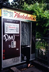 photokabine (dealise) Tags: berlin film 35mm photobooth olympus analogue olympusmjuii filmphoto photokabine
