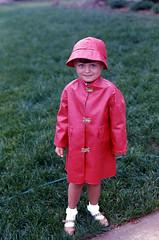 Morton Salt (kekyrex) Tags: 1969 kids portraits self vintage raincoats