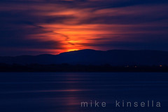 Moon rise (mike in mayo) Tags: ireland moon color colour night view scenic rise