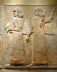 Khorsabad Palace of King Sargon II 722-705 BCE Entrance Court VIII Court Officials Assyrian (Bruce Allardice) Tags: iraq khorsabad dursharrukin assyria sargonii sargon palace babylonia akkad sumer basrelief sargonid