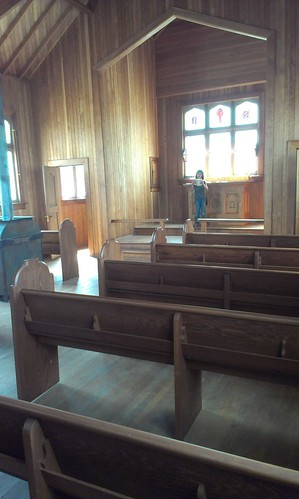 Fort Selkirk Anglican church