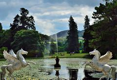 Powerscourt Triton Lake (Belfastsocrates) Tags: ireland horse dublin lake fountain garden pond powerscourt wicklow enniskerry countywicklow wingedhorse powerscourtgardens powerscourthouse tritonlake powerscourtestate