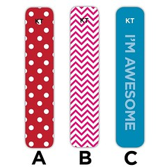 Who thinks it's time for a new KT Tape color or pattern? Here's YOUR chance to help us select the next custom tape. Leave a comment below telling us which of these designs is your favorite. Better yet, let us know what new pattern or colors you'd like to (Recover Faster, Play Harder) Tags: pink blue red tape pro chevron limitededition kt polkadot newdesign imawesome chooseone newtape kttape protape