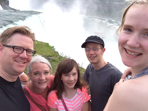 Fryer Family at Niagara Falls in 2014 by Wesley Fryer, on Flickr