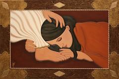 Maria Maddalena  cm 90x60 opera in mostra Le vie della  Luce Vittoria Salati (vittoriasalati) Tags: mostra opera maria cm maddalena vie vittoria salati le 90x60 luce