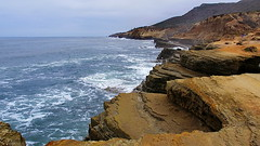 Point Loma tidal pools - at high tide oops
