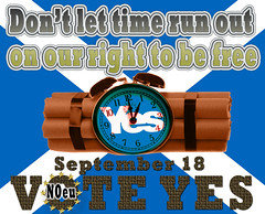 Don't let time run out VOTE YES