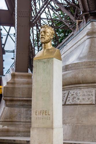 Statue de Gustave Eiffel
