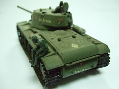 RUSSIAN TANK kv-1 type C - ESCI (RMJ68) Tags: toy war tank military guerra plastic militar kit plastico russian kv 172 juguete maqueta tanque esci kliment voroshilov