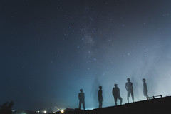 Devils (Lucifer.W) Tags: hk nature landscape hongkong star nightscape pentax starry starrynight milkyway hker pentaxkr