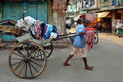 India - West Bengal - Kolkata - Pulled Rickshaw - 54 (asienman) Tags: india kolkata westbengal cyclerickshaws asienmanphotography pulledrickshaws