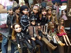 From a Dolly Meet last 2011 (Bratz Guy☆) Tags: dylan dolls ken jade cameron destiny motorcycle sasha cheerleading fabulous cade eitan bratz cloe koby bratzboyz playsportz bratzparty