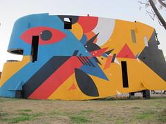 Criatura Acuática (Julian Manzelli) Tags: art argentina julian mural arte buenos aires submarine chu tecnopolis intervention doma submarino intervención manzelli