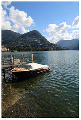 Lugano lake (milandc) Tags: lake ticino lugano paradiso