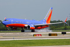 Southwest | 737-800 | N8601C | MCO (Justin Pistone) Tags: southwest orlando airport florida international boeing split airlines mco 737 winglets scimitar 737800 kmco n8601c