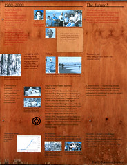 1980 to 2000 Logging Ends, Fishing, Tourism & Conservation The Future, Central Station & Wangoolba Creek , Fraser Island, SE Queensland (Black Diamond Images) Tags: sign conservation australia queensland fraserisland centralstation thefuture sequeensland interpretivesign wangoolbacreek worldheritagelisting 1980to2000 loggingends sandminingends