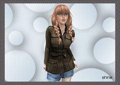 "shine by [ZD] - ""Penny"" FitMesh Jacket (shine & sharp by [ZD]) Tags: life fashion by vintage demo for women shine dress place mesh market coat retro sl jacket dresses penny second marketplace mp boho mode jacke mantel frauen für kleidung kleid fitted weiblich zd womenswear inworld zddesign fitmesh"