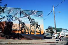Peralta Mural (vision63) Tags: california street oakland bay cranes area northern peralta dsc2381