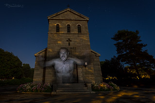 The Ghost at Vallø Chapel