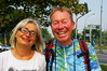 Avec  Anna à Varsovie