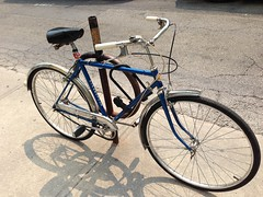 Super Cycle (Quistian) Tags: street toronto kensington iphone 2014 201408 authorrps 20140807