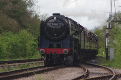 70013, 'Oliver Cromwell', Swithland Sidings, 10th May 2014 (OG47) Tags: train pacific locomotive steamengine steamtrain swithland steamlocomotive olivercromwell greatcentralrailway gcr 462 sidings uksteam 70013 britanniaclass brstandardclass7
