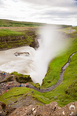 Ghost Tourists (Prozac74) Tags: longexposure waterfall ghosts splash gullfoss fullsize canoneos5dmarkii nd1000filter canonef2470mmf28liiusm iceland2014