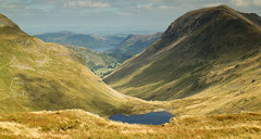The view that the hike was about.. (Tall Guy) Tags: uk lakedistrict cumbria tarn ullswater stsundaycrag grisedale tallguy dollywagonpike seatsandal