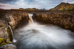 Power (Kristinn R.) Tags: sky mountains clouds river waterfall iceland nikon rocks nikonphotography innri emstruá kristinnr d800e