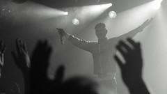 Little Big (Brian Krijgsman) Tags: blackandwhite music film netherlands amsterdam stpetersburg photography concert nikon tour photos russia live gig grain band rave russian zwart wit melkweg 2014 d4 littlebig iso12800 oudezaal sergeygokkmakarov sergeymakarov briankrijgsman ilyaprusikin olympiaivleva