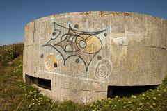 Blockhaus. Pointe du Raz. Bretagne