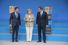 Arrivals at the Summit Venue (NATO) Tags: wales unitedkingdom newport summit nato davidcameron andersfoghrasmussen natosummituk