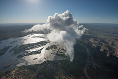 Sun over the Falls (MrBlackSun) Tags: river nikon smoke falls spray zimbabwe victoriafalls thunder mosi zambezi vicfalls d600 zambeziriver tunya mosioatunya nikond600 smokethatthunders