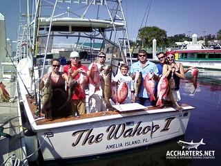 group fishing charters- Amelia Island, FL