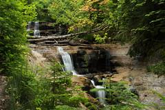 12-3 (jillybeanmi) Tags: summer water landscapes waterfall michigan scenic falls greatlakes rivers picturerocks lakesuperior waterscape munising uppermichigan munsing logslide h58 puremichigan
