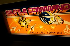 Missile Command (little fern photography) Tags: show seattle fire jump nw shoot northwest buttons arcade hobby atari joystick retro videogames 80s missilecommand button pacificnorthwest videogame hobbies highscore gameroom pacificnw arcadegame arcardes nwpinballandgameroomshow