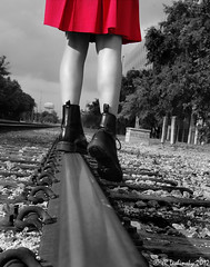 Black and White (jrleshinsky) Tags: train portland rust shadows tracks chess trains medieval pottery cigars armour littlehavana