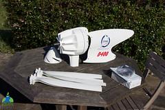 Montage de l'éolienne D400