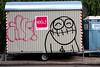 graffiti amsterdam (wojofoto) Tags: amsterdam graffiti streetart wojofoto pressone bouwkeet nederland netherland holland wolfgangjosten