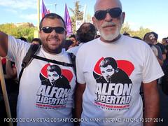 MANI VK LIBERTAD ALFON (Fotos de Camisetas de SANTI OCHOA) Tags: libertad presos
