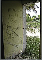 3221991020_7fe4d25105_o (gray.florie) Tags: abandoned beach mexico yucatan tulum caribbean allrightsreserved xpuha usewithoutpermissionisillegal ©2009florencetomasulogray floriegrayfloriegrayflorencetomasulograytomasuloflorie junglefloriegraycom