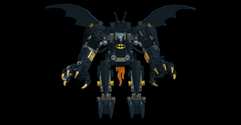 Bat Exo Suit Front (Oky   Space Ranger) Tags: Dc Lego